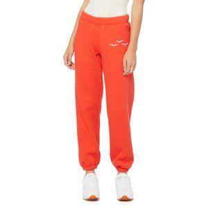 Lazypants Orange 'Niki' Sweatpants Size 4 (L) NWOT